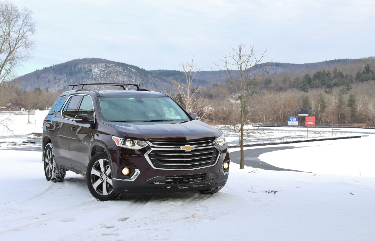 Winter Driving: 2018 Chevrolet Traverse