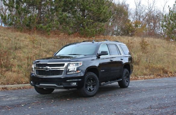 Menacing 2017 Chevrolet Tahoe Midnight Edition Limited Slip Blog