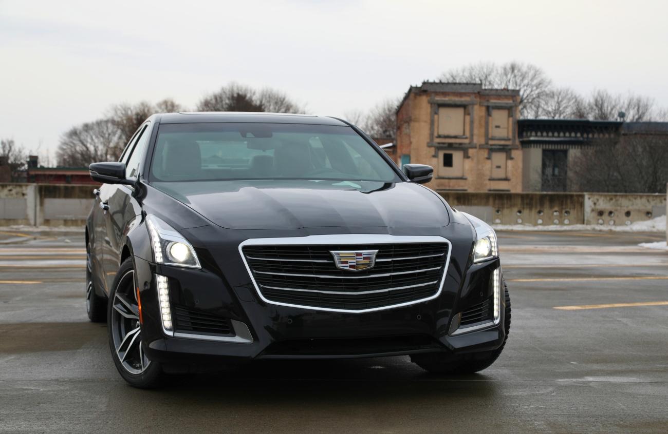 2018 Cadillac CTS VSport 1