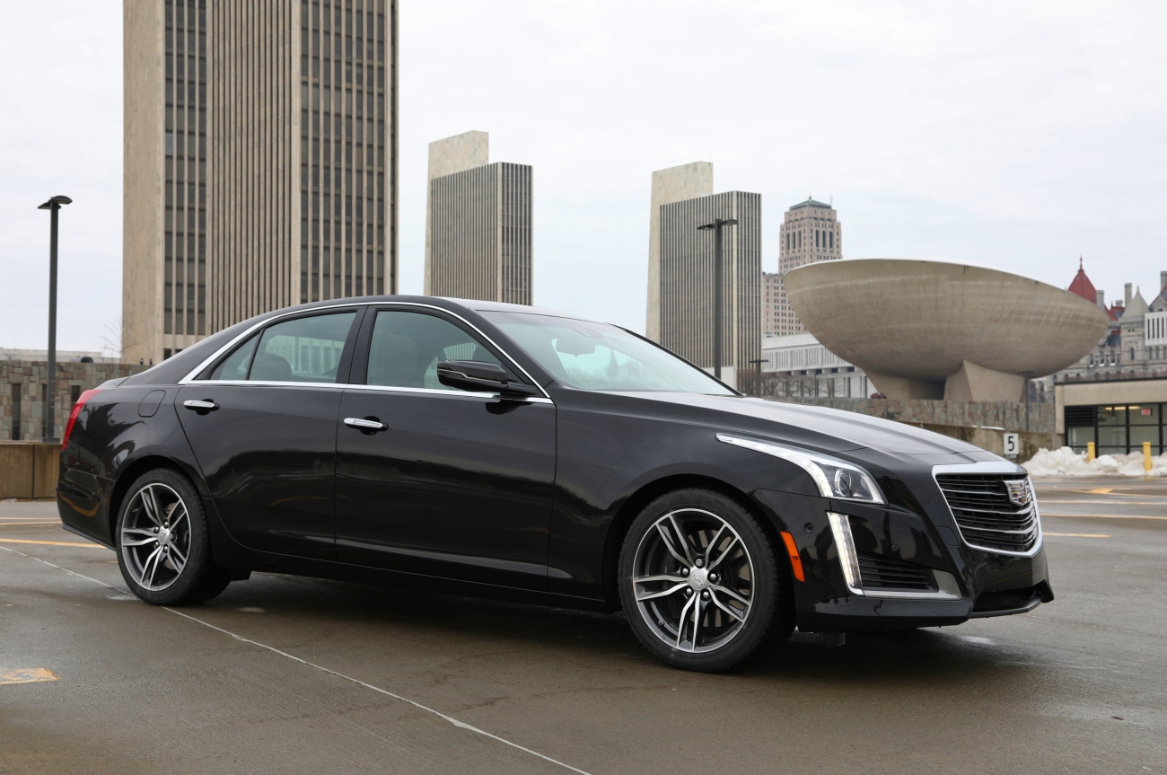 2018 Cadillac CTS VSport 4