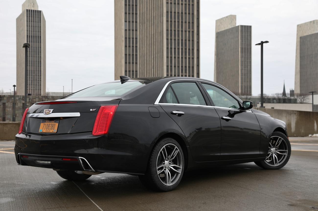 2018 Cadillac CTS VSport 6