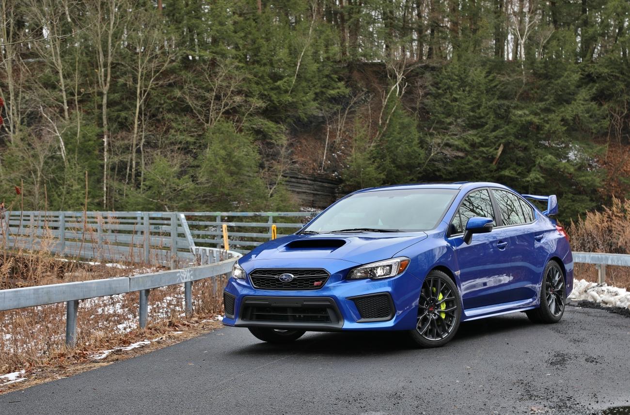 2018 Subaru WRX STi 7