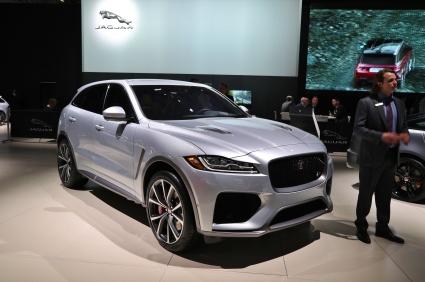 Jaguar FPace SVR 1