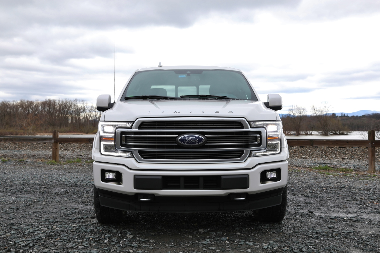 Quick spin 2018 ford f 150 limited limited slip blog - 2018 ford f 150 limited interior ...