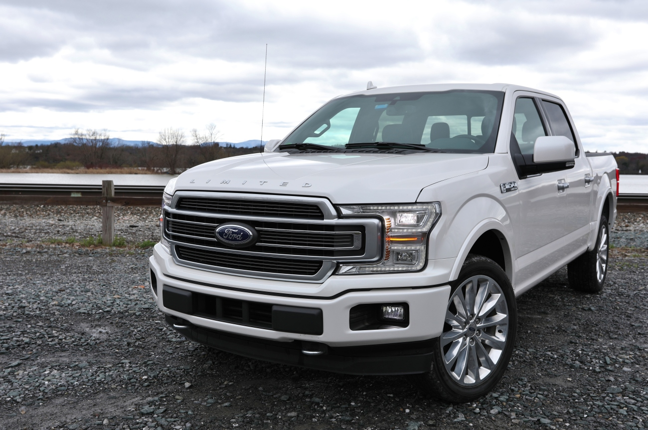 2018 ford f150 limited 8