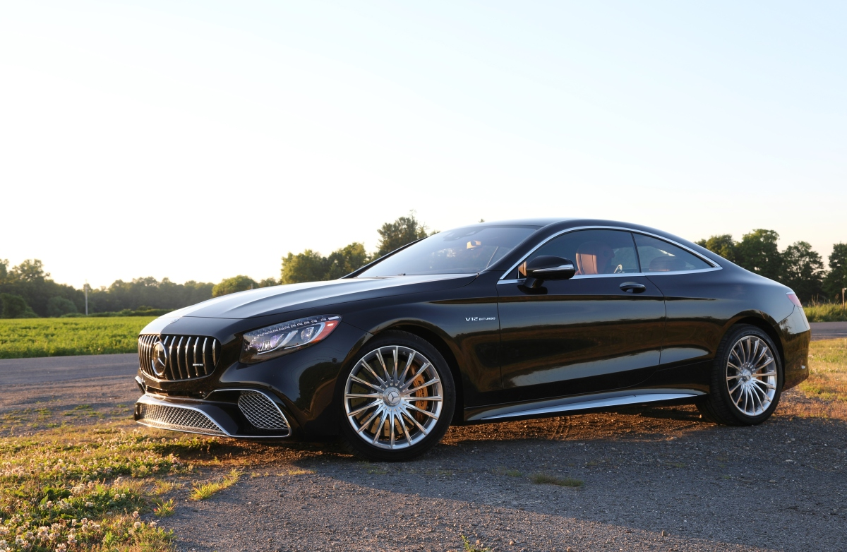Olympian: 2018 Mercedes AMG S65 Coupe