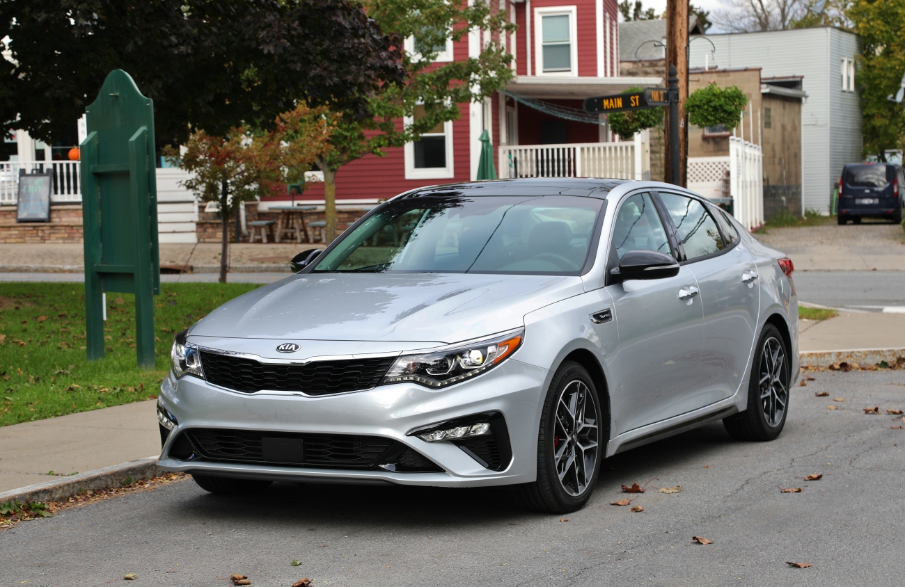 2019 Kia Optima SX 1