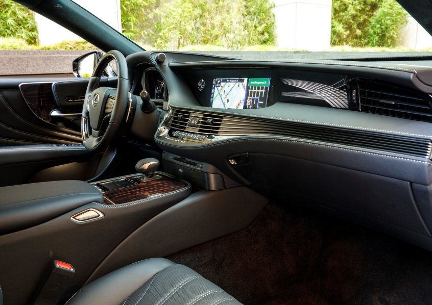2019 Lexus LS500 7