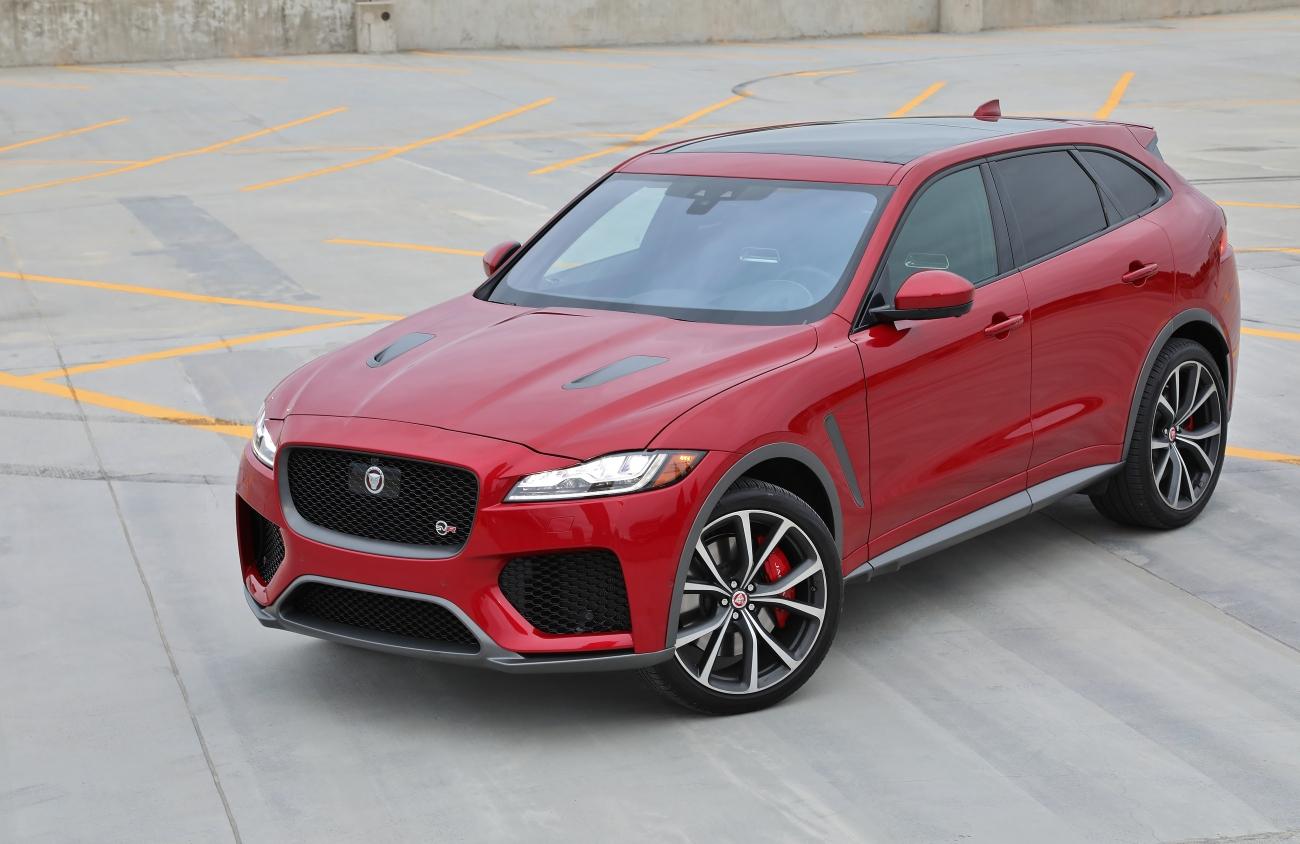 2019 Jaguar FPace SVR 8