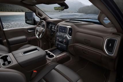 2020 GMC Sierra HD Denali Interior