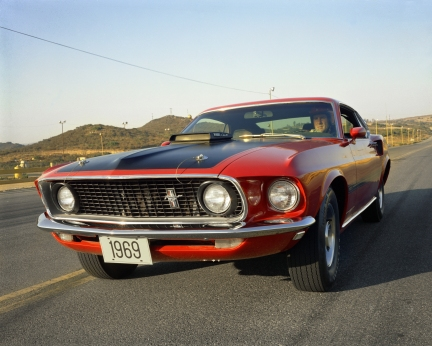 1969 Ford Mustang Mach 1 fastback neg CN5503-266