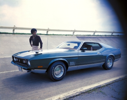 1971 Ford Mustang Mach 1 fastback neg CN6003-036
