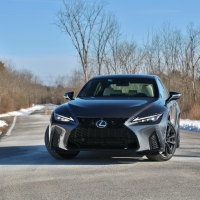 Charming: 2021 Lexus IS350 F Sport